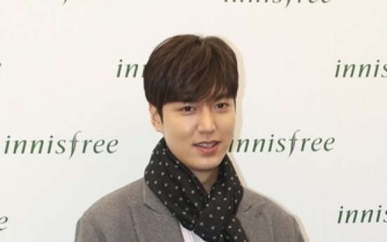 Actor Lee Min-ho named as promotional envoy for Korean language education institutes