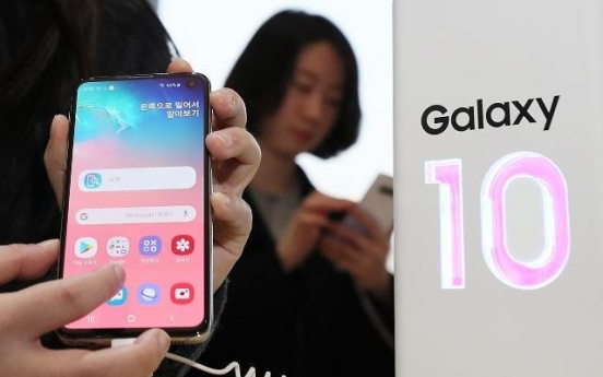 Galaxy S10 sales 12% higher than predecessor