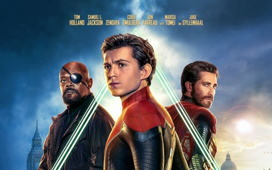 'Spider-Man: Far From Home' opens in S. Korea with 674,000 admissions