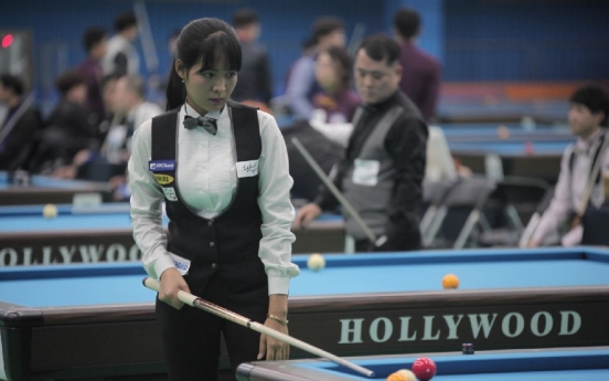 [Herald Interview] Living the Korean dream at the pool table