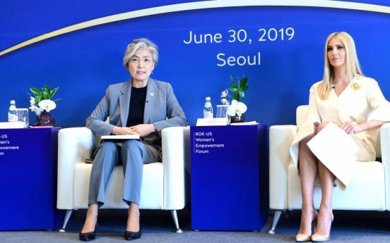 Ivanka Trump makes headlines by donning Korean designer's dress