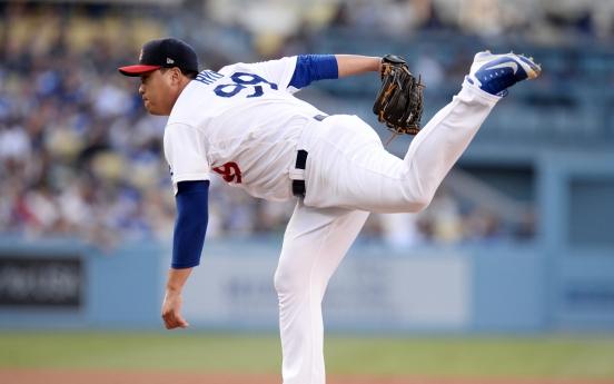 Dodgers' Ryu Hyun-jin wins final start of 1st half
