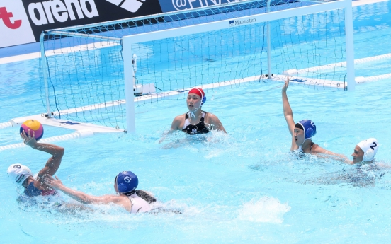 S. Korea hammered by Hungary in women's water polo debut