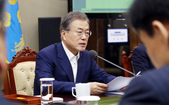 Moon lambasts Japan over 'unwise' trade moves