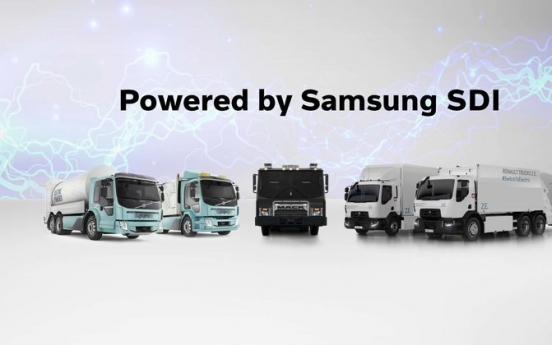 Volvo, Samsung SDI to co-develop battery packs for electric trucks