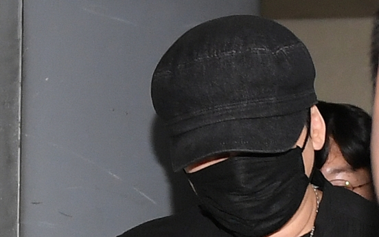 Former YG Entertainment head booked for procuring sex services