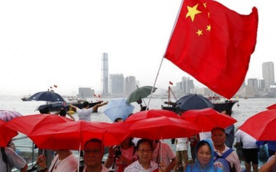 Hong Kong police seize explosives as rival camps rally