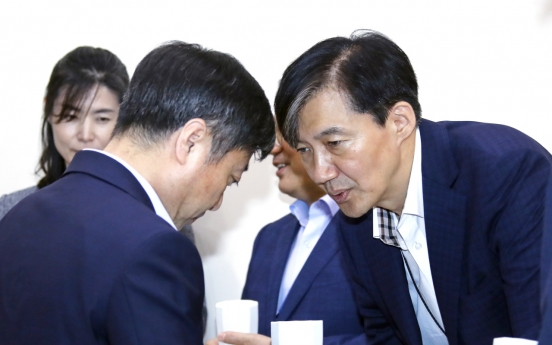 [Newsmaker] Moon's civil affairs secretary at center of yet another political feud