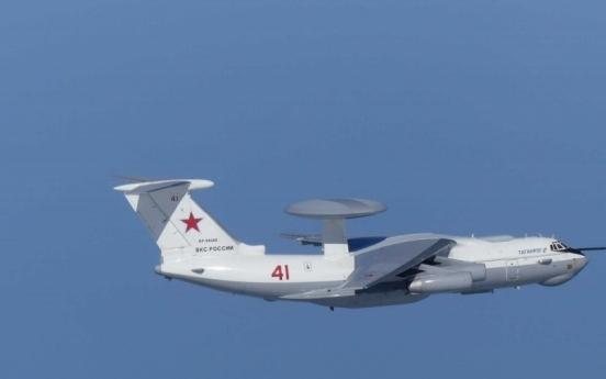S. Korea fires warning shots at intruding Russian warplane