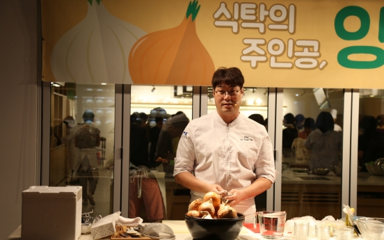 Korean Food Promotion Institute helps farmers as onion prices plummet