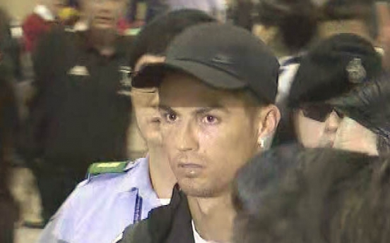 [Photo News] Ronaldo arrives in Seoul for match with Korean All-Stars
