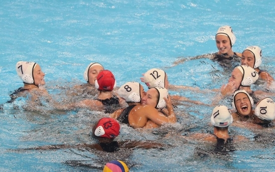 [Gwangju Swimming] US pulls off three-peat in women's water polo
