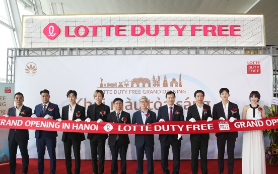 Lotte Duty Free opens third store in Vietnam