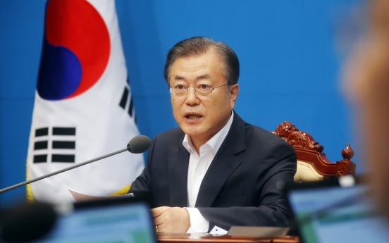 President Moon warns of retaliation, urges Japan to negotiate