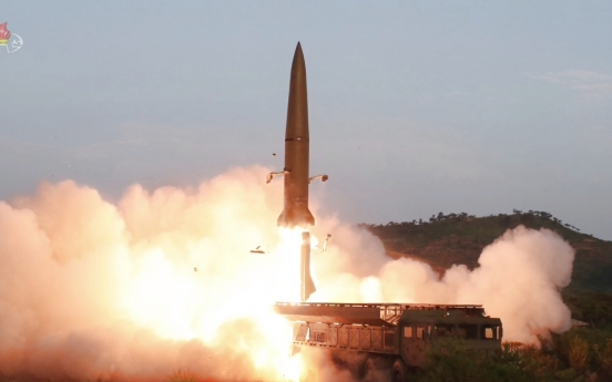 Seoul says N. Korea fires two short-range projectiles, third launch in 8 days