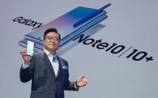 Samsung unveils largest-ever Note 10 with most compact version