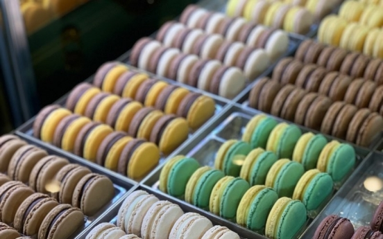 Chocolatier's new macarons pop with flavor