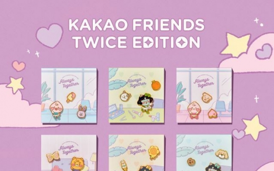 Kakao and Twice collaborate for new Kakao merchandise