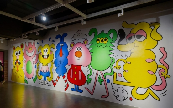 'Superstar' Jon Burgerman brings back joy of doodling