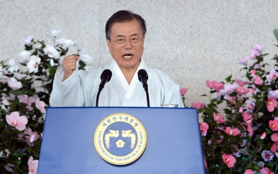 Moon urges Japan to choose 'path of dialogue and cooperation'