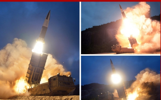 North Korea fires two projectiles into East Sea