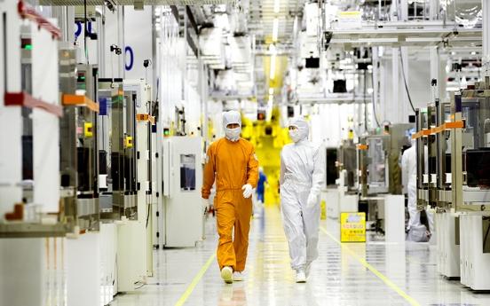 Samsung, SK hynix slip in chip sales in H1