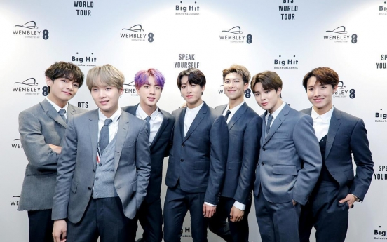 BTS propels Big Hit to near top of entertainment industry in H1