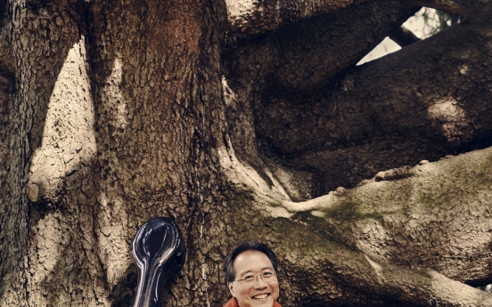 Cellist Yo-Yo Ma hopes to bring peace to Korea