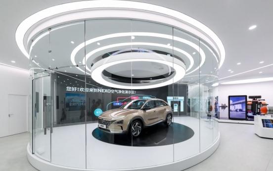 Hyundai Motor opens hydrogen showroom in Shanghai