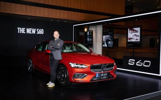 Volvo's premium sedan the New S60 lands in Korea