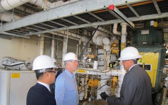 Michigan congressman visits SK Saran Americas in Midland