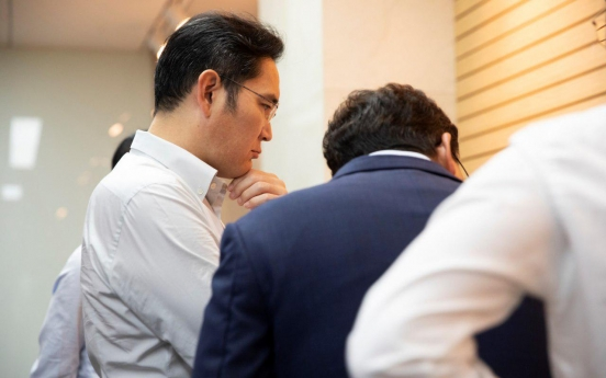 Samsung heir's visit viewed as signal for QD-OLED investment