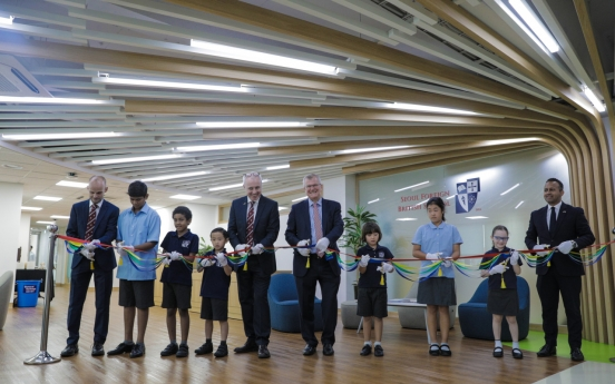 British ambassador attends opening of new facilities at Seoul Foreign British School