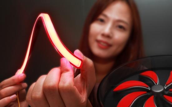 LG Innotek develops flexible 3D lighting for premium cars