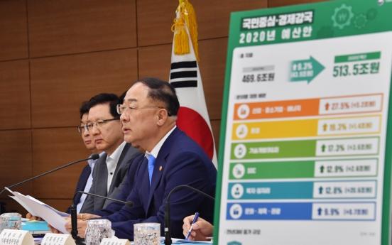 S. Korea's fiscal spending to climb 9.3% in 2020 amid uncertainties