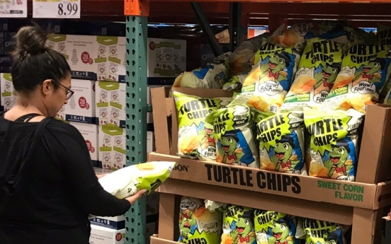 [Photo News] Orion's Kkobuk chip sold in Costco stores around US