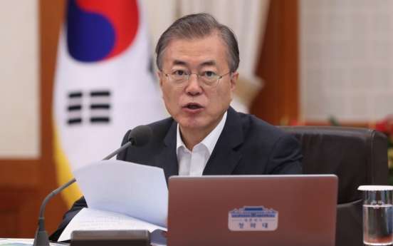 [News Focus] Moon reverts to hard line as Japan rejects dialogue