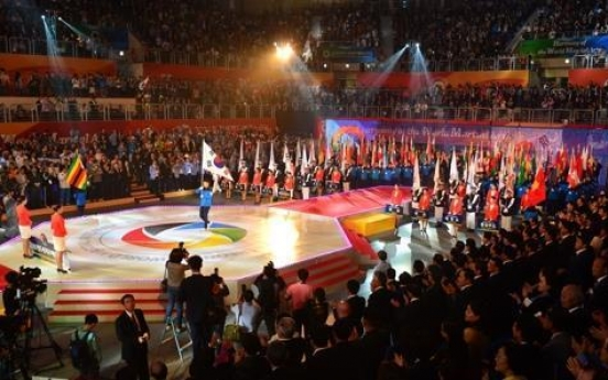 World martial arts competition kicks off in Chungju