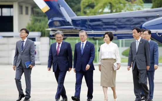 President Moon requests review of college admissions system