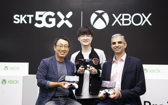 SKT, Microsoft team up for cloud gaming platform