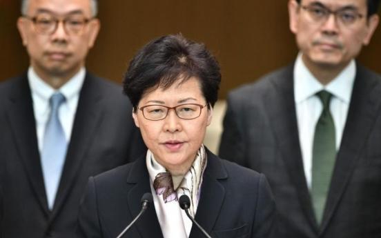 [Newsmaker] Hong Kong leader shelves loathed extradition law