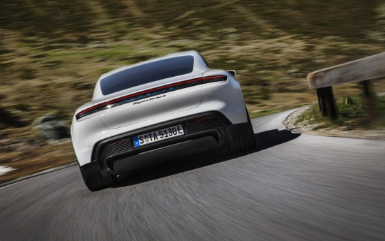 Porsche unveils first-ever electric sports car Taycan
