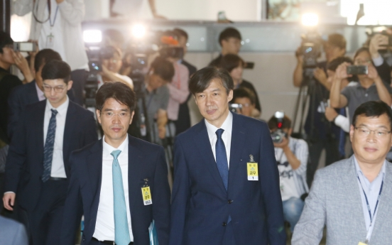 Opposition to justice nominee Cho rises to new heights: poll