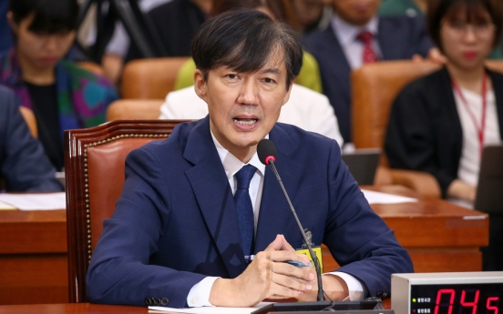Justice minister nominee denies role in alleged corruption involving his family