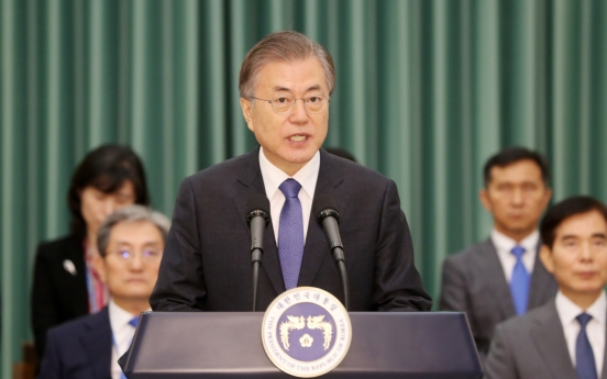 Moon appoints Cho as justice minister, stresses reform drive