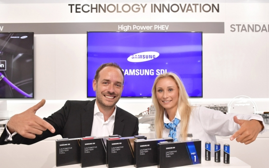 Samsung SDI showcases innovative battery solutions in Frankfurt