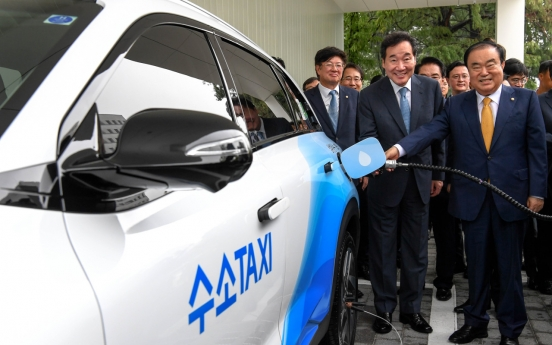 Assembly opens hydrogen-refilling station