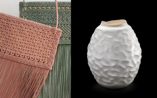 The art of silk threads, sheet metal