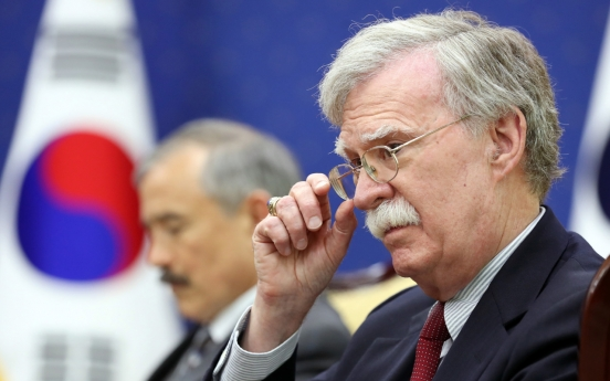 [Newsmaker] Bolton's exit may add flexibility to NK talks but could hinder full denuke efforts
