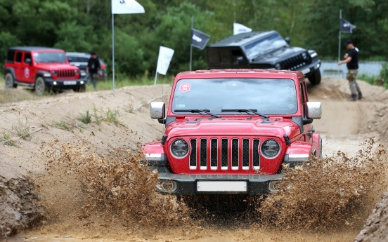 Jeep Camp in Pyeongchang offers genuine off-road experience